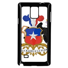 Coat Of Arms Of Chile  Samsung Galaxy Note 4 Case (Black) by abbeyz71