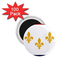 Flag Of New Orleans  1 75  Magnets (100 Pack)  by abbeyz71