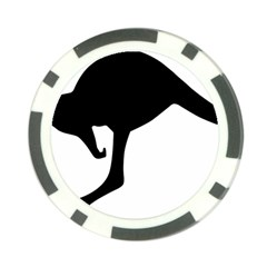 Roundel Of Australian Army Aviation Poker Chip Card Guards (10 pack)  by abbeyz71