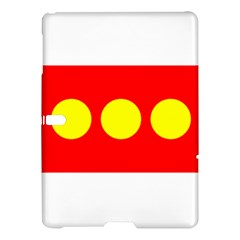Flag Of Freetown Christiania Samsung Galaxy Tab S (10 5 ) Hardshell Case