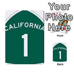 California 1 State Highway   Pch Multi Purpose Cards (rectangle)  by abbeyz71