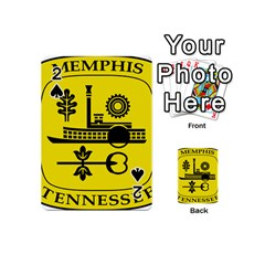 Seal Of Memphis  Playing Cards 54 (Mini)  by abbeyz71