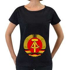 National Emblem Of East Germany  Women s Loose Fit T Shirt (black) by abbeyz71