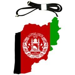 Flag Map Of Afghanistan Shoulder Sling Bags