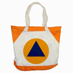 International Sign Of Civil Defense Roundel Accent Tote Bag by abbeyz71