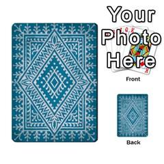 Thegame Deck 1 By Yuri Alvarez   Multi Purpose Cards (rectangle)   6m97d4haoi0v   Www Artscow Com Back 12