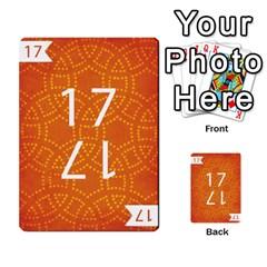 Thegame Deck 1 By Yuri Alvarez   Multi Purpose Cards (rectangle)   6m97d4haoi0v   Www Artscow Com Front 38