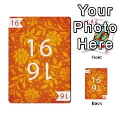 Thegame Deck 1 By Yuri Alvarez   Multi Purpose Cards (rectangle)   6m97d4haoi0v   Www Artscow Com Front 39