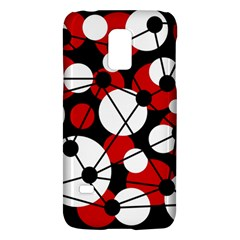 Red, black and white pattern Galaxy S5 Mini