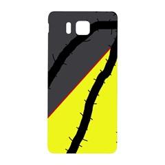 Spider Samsung Galaxy Alpha Hardshell Back Case by Valentinaart