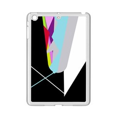 Colorful Abstraction Ipad Mini 2 Enamel Coated Cases by Valentinaart