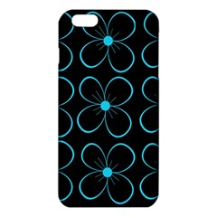 Blue flowers iPhone 6 Plus/6S Plus TPU Case by Valentinaart