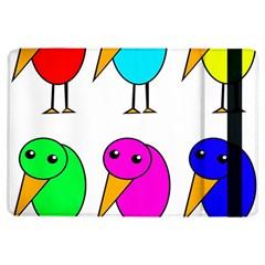 Colorful Birds Ipad Air Flip by Valentinaart