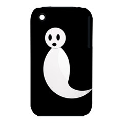 Ghost Apple iPhone 3G/3GS Hardshell Case (PC+Silicone) by Valentinaart