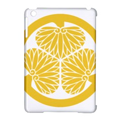 Tokugawa Family Crest Apple iPad Mini Hardshell Case (Compatible with Smart Cover) by abbeyz71