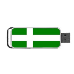 Flag Of Puerto Rican Independence Party Portable Usb Flash (one Side) by abbeyz71
