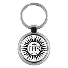 Society Of Jesus Logo (jesuits) Key Chains (round)  by abbeyz71