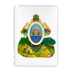 Coat Of Arms Of Honduras Samsung Galaxy Note 10 1 (p600) Hardshell Case by abbeyz71