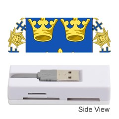 Lesser Coat Of Arms Of Sweden Memory Card Reader (stick)  by abbeyz71