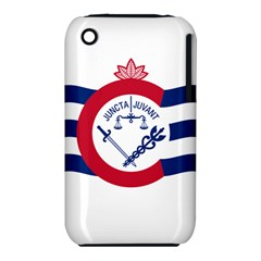 Flag Of Cincinnati Apple Iphone 3g/3gs Hardshell Case (pc+silicone) by abbeyz71