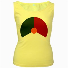 Roundel Of The Royal Netherlands Air Force Women s Yellow Tank Top by abbeyz71