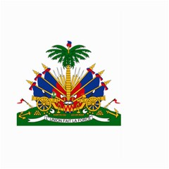 Coat Of Arms Of Haiti Large Garden Flag (Two Sides) by abbeyz71