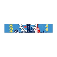 Flag Of Milwaukee Flano Scarf (mini) by abbeyz71
