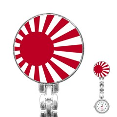 Ensign Of The Imperial Japanese Navy And The Japan Maritime Self Defense Force Stainless Steel Nurses Watch by abbeyz71