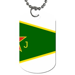 Flag Of The Women s Protection Units Dog Tag (two Sides) by abbeyz71