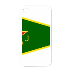 Flag Of The Women s Protection Units Apple Iphone 4 Case (white) by abbeyz71