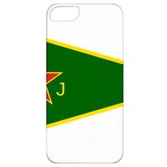 Flag Of The Women s Protection Units Apple Iphone 5 Classic Hardshell Case by abbeyz71