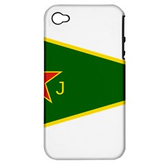 Flag Of The Women s Protection Units Apple Iphone 4/4s Hardshell Case (pc+silicone) by abbeyz71