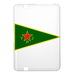 Flag Of The Women s Protection Units Kindle Fire Hd 8 9  by abbeyz71