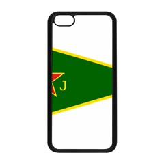 Flag Of The Women s Protection Units Apple Iphone 5c Seamless Case (black) by abbeyz71
