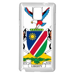 Coat Of Arms Of Namibia Samsung Galaxy Note 4 Case (White) by abbeyz71