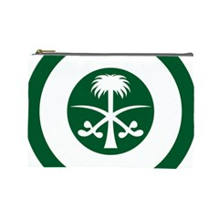 Roundel Of The Royal Saudi Air Force Cosmetic Bag (large)  by abbeyz71