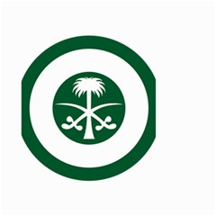 Roundel Of The Royal Saudi Air Force Small Garden Flag (two Sides) by abbeyz71