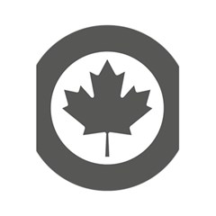 Low Visibility Roundel Of The Royal Canadian Air Force 5 5  X 8 5  Notebooks by abbeyz71