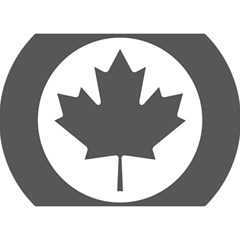 Low Visibility Roundel Of The Royal Canadian Air Force Birthday Cake 3d Greeting Card (7x5) by abbeyz71