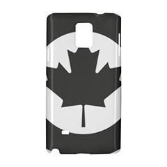 Low Visibility Roundel Of The Royal Canadian Air Force Samsung Galaxy Note 4 Hardshell Case by abbeyz71