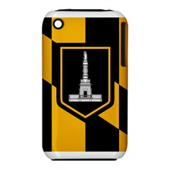 Flag Of Baltimore Apple Iphone 3g/3gs Hardshell Case (pc+silicone) by abbeyz71