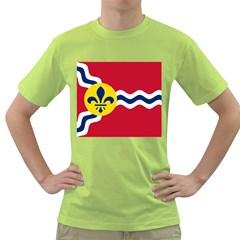 Flag Of St Green T-Shirt by abbeyz71