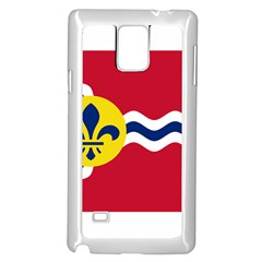 Flag Of St Samsung Galaxy Note 4 Case (White) by abbeyz71