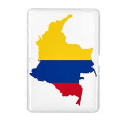 Flag Map Of Colombia Samsung Galaxy Tab 2 (10.1 ) P5100 Hardshell Case