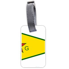 Flag Of The People s Protection Units Luggage Tags (two Sides) by abbeyz71
