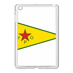 Flag Of The People s Protection Units Apple Ipad Mini Case (white) by abbeyz71