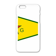 Flag Of The People s Protection Units Apple Iphone 6/6s White Enamel Case by abbeyz71