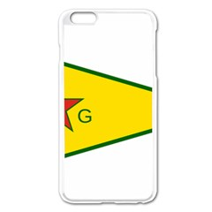 Flag Of The People s Protection Units Apple Iphone 6 Plus/6s Plus Enamel White Case by abbeyz71