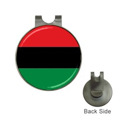 Pan African Flag  Hat Clips With Golf Markers by abbeyz71