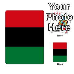 Pan African Flag  Multi-purpose Cards (Rectangle)  by abbeyz71